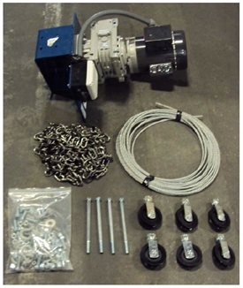 Picture of Hog Slat® Load Chute Winch Kit - Electric