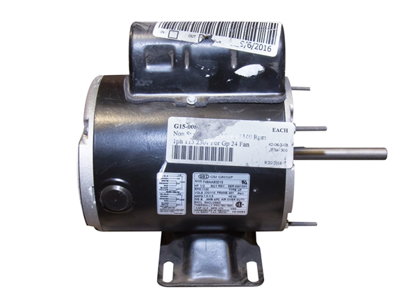 Picture of Fan Motor 1/3 HP 1140 RPM 230V