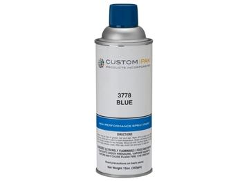Picture of Hog Slat Blue Spray Paint.