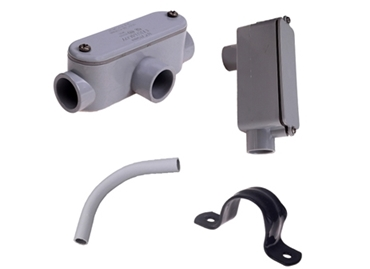 Picture for category Conduit Fittings, Junctions & Straps