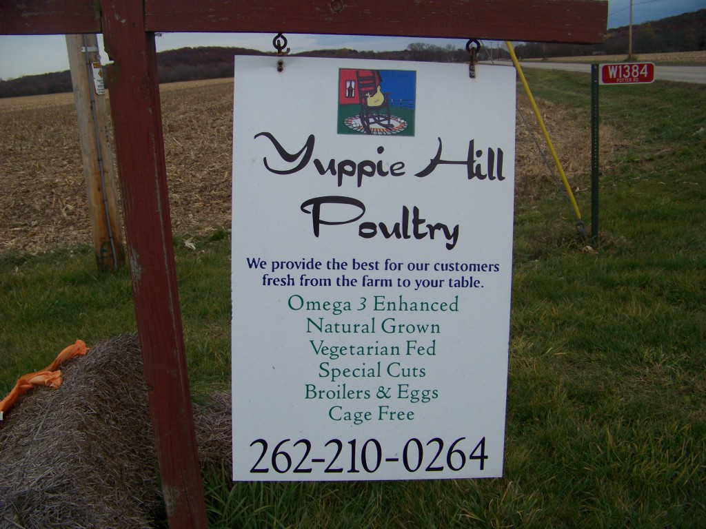 Yuppie Hill sign