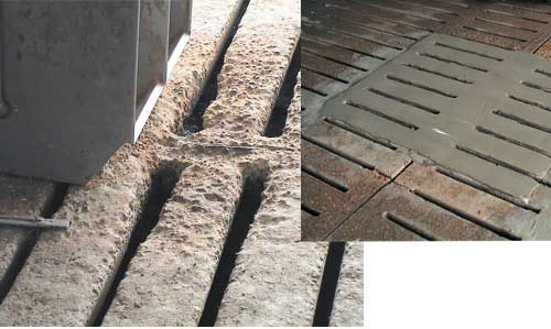 slat repair with Con-Korite