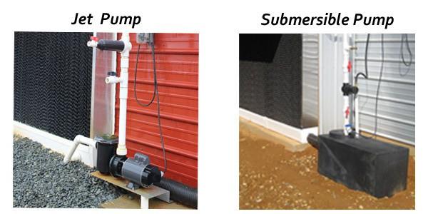 jet vs sub pump