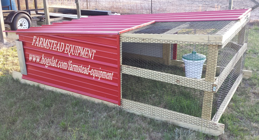 Outdoor Chicken Tractor