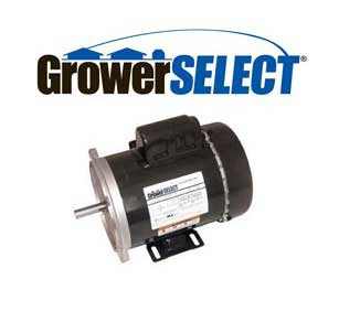 GrowerSELECT auger motor with 2 year warranty.