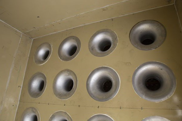 Nozzle wall
