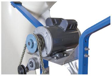 AirStorm X-Brace Fan Motor Mount, Link Belt & Pulley
