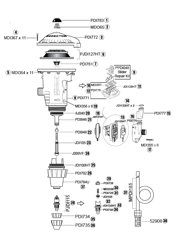 DM11 diagram