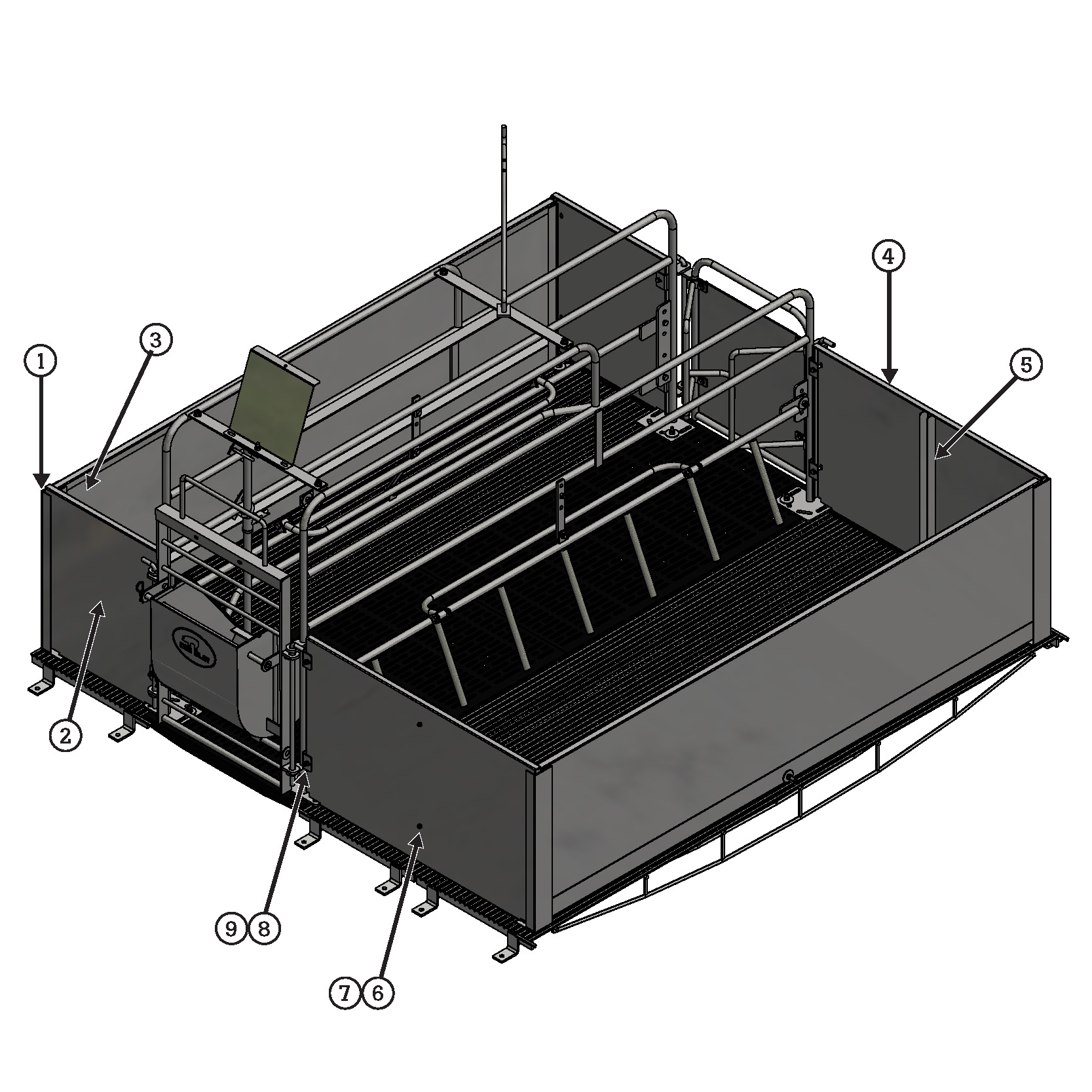 crate layout