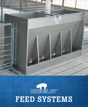 Hog Slat GrowerSELECT Swine Feed Systems Booklet Cover