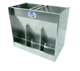 Hog Slat w/f feeders