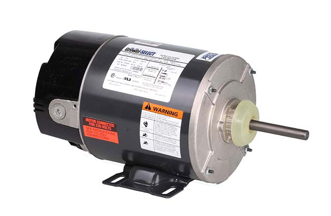 GrowerSELECT® variable speed fan motors are designed and manufactured to effectively meet the changing air flow needs on swine and poultry farms.