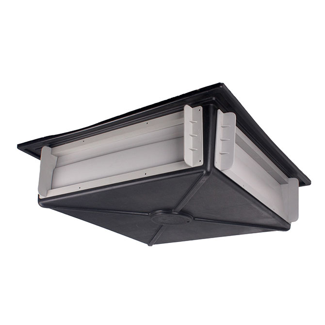 HSI2000 4-way ceiling inlet.