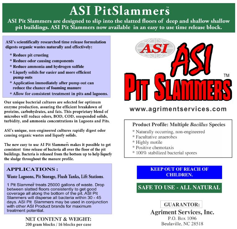 ASI Pit Slammers™ Box Label