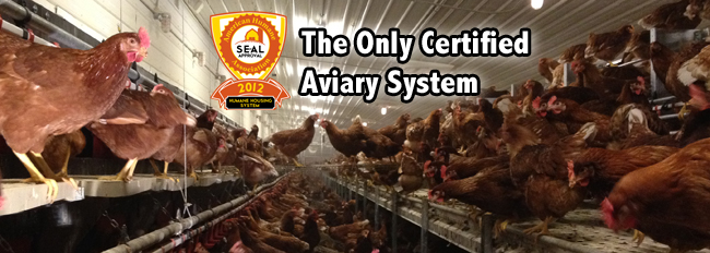 Potter- The Only certified aviary system