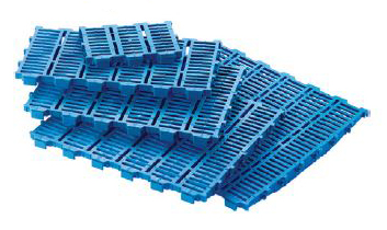 Hog Slat® Plastic Rubin Creep Panel Flooring Section