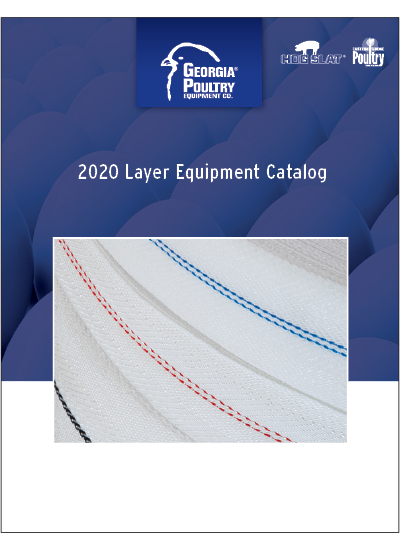 2020 Georgia Poultry Layer Equipment Catalog Cover
