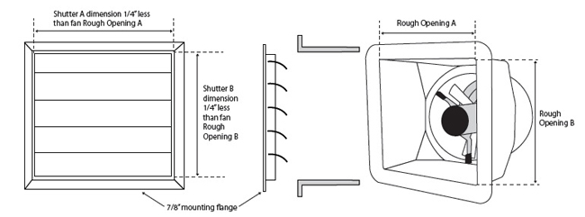 shutter DIY diagram