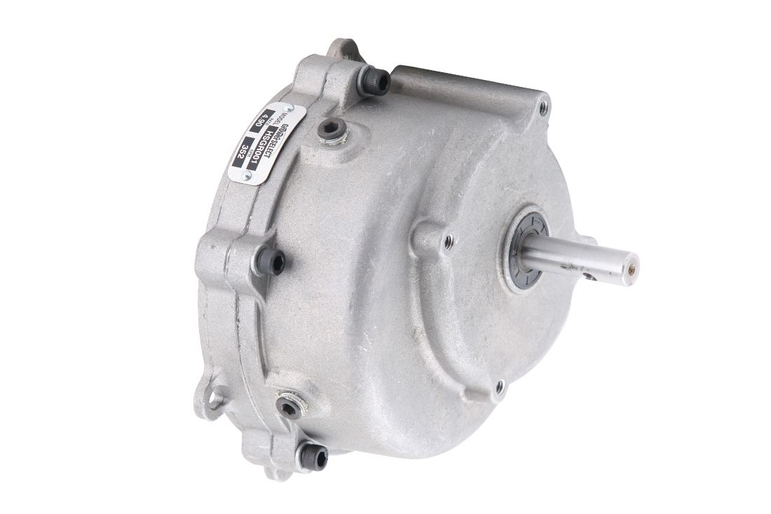 GrowerSELECT® drive unit gear heads are available individually to serve as high-quality, affordable replacements for worn units on GrowerSELECT and other brands of poultry feed line systems.