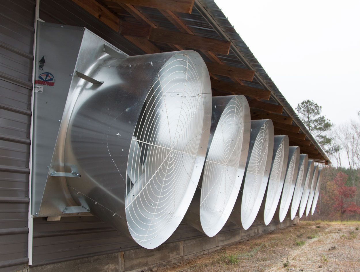 WindStorm Galvanized Fans