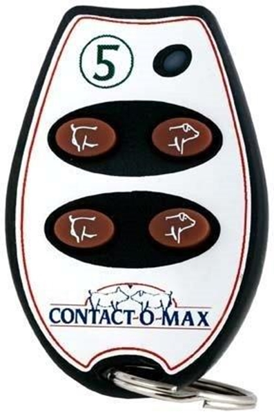 Picture of Contact-O-Max Remote Control Blue Light 4 Button Freq #5