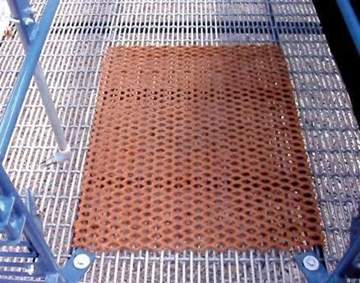 "Picture of 24"" W x 30"" L coated floor patch"