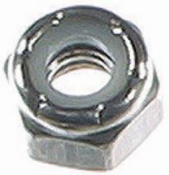 """Picture of 5/16"""" Locknut SS"""