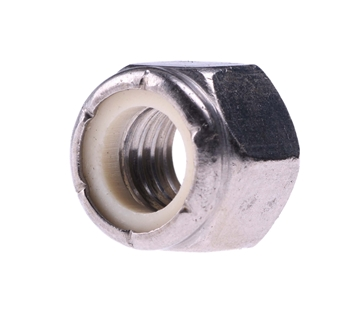 "Picture of 3/8"" Locknut SS"