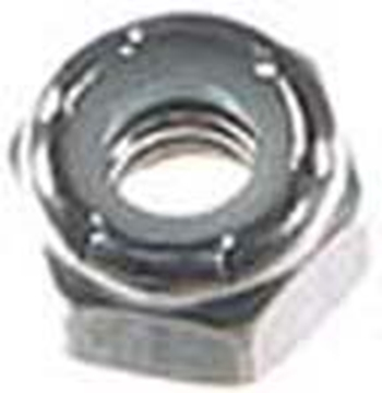"Picture of 5/16"" Locknut zinc"