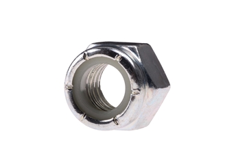 "Picture of 3/8"" Locknut zinc"