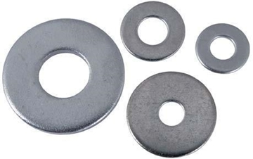 "Picture of 1/4"" Flat Washer SS"