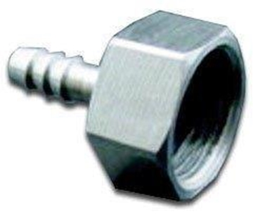 "Picture of 1/2"" FPT x 1/4"" Barb - SS"