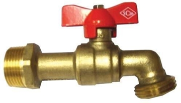 "Picture of 3/4"" Full Port Brass Spigot"