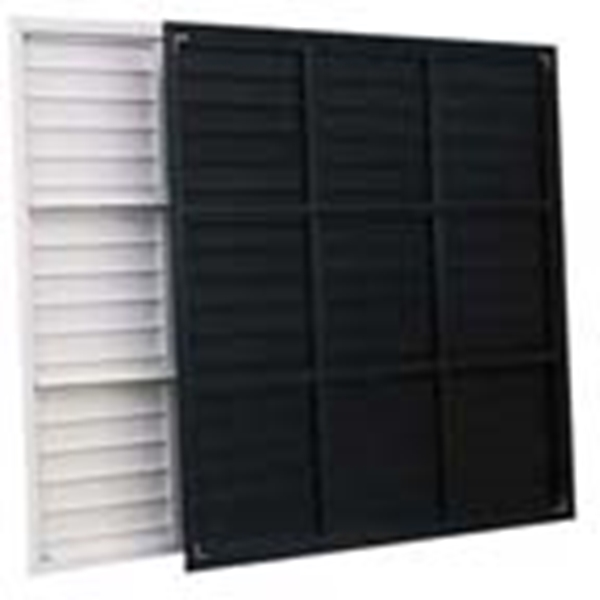 Picture of Shutter Pvc 54-1/8'' X 54-1/8'' White