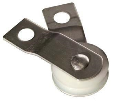"""Picture of 1-3/8"""" Stainless Steel Split Pulley"""