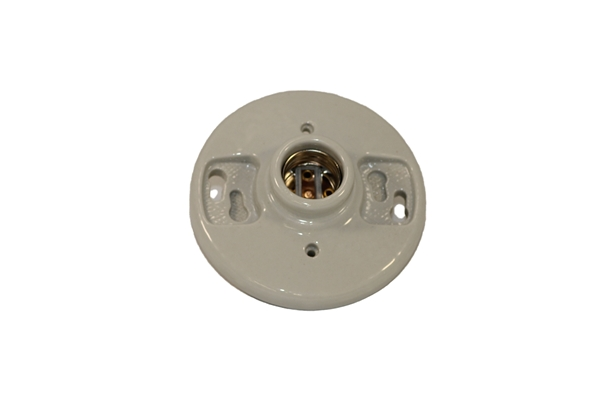 Picture of Porcelain Light Receptacle w/ No Leads