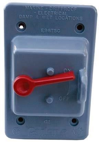 Picture of Single Gang Toggle Switch Cover