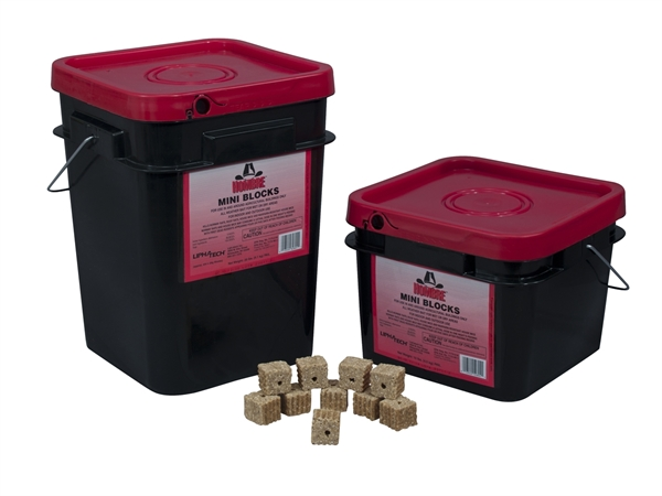 Picture of Hombre™ Mini Blocks, 10 lb. pail
