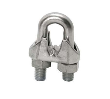 "Picture of 1/8"" Galv. Cable Clamp"