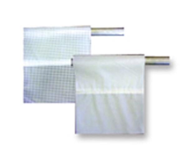 Picture of 6' Vinyl Curtain - Translucent - 9.5 oz - Single Hem Curtain