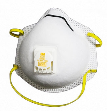 Picture of 3M™ Particulate Respirator 8511 N95