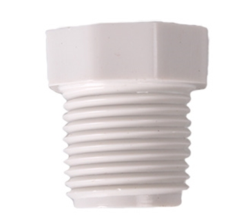 "Picture of 1/2"" MPT x 1/4"" FPT PVC Reducer"