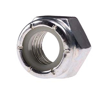 "Picture of 1/2"" Locknut zinc"