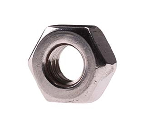 "Picture of 1/4"" nut SS"