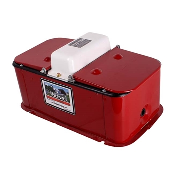 Heated Outdoor Hog Waterer 2 Hole w/ Lids