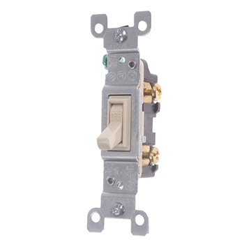 Picture of LIGHT SWITCH SINGLE POLE 120V 15AMP