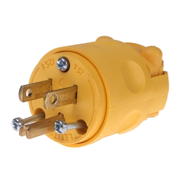 Picture of PLUG MALE CORD CONNECTOR 120V