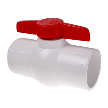 "Picture of 4"" BALL VALVE PVC SCH 40 AND SCH 80"
