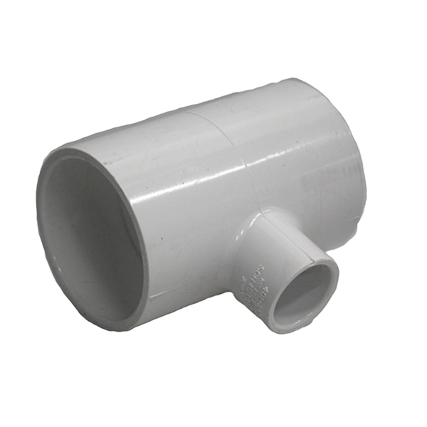 """Picture of TEE REDUCING PVC 2"""" x 2"""" x 3/4"""""""