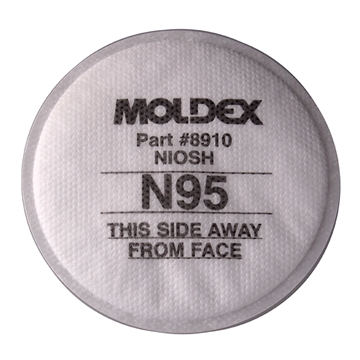 Picture of MOLDEX® N95 PARTICULATE FILTER - 5 PAIR